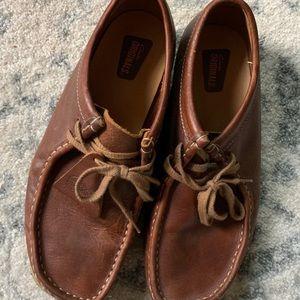 Clark's Originals Brown Leather Tie Shoes
